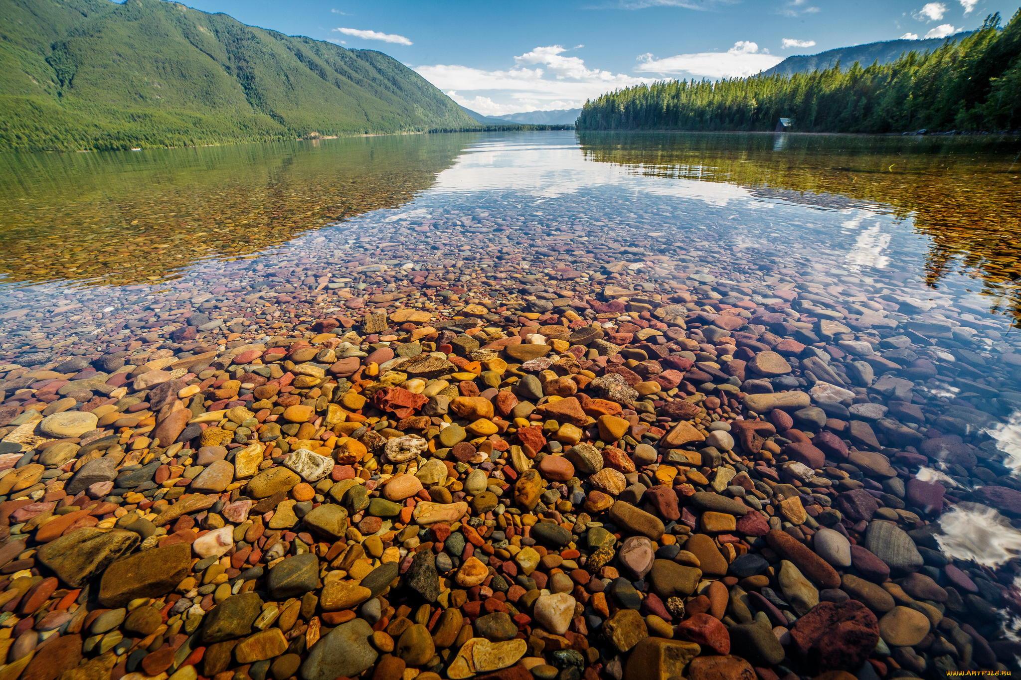 ней прозрачные реки и озера фото тому